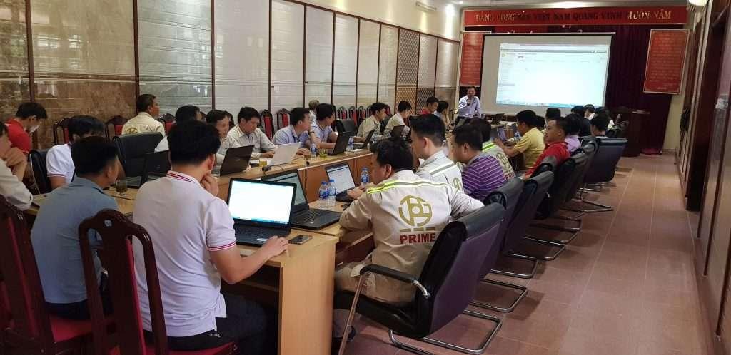 Đào tạo phần mềm quản lý bảo trì thiết bị tại nhà máy Prime Đại Việt