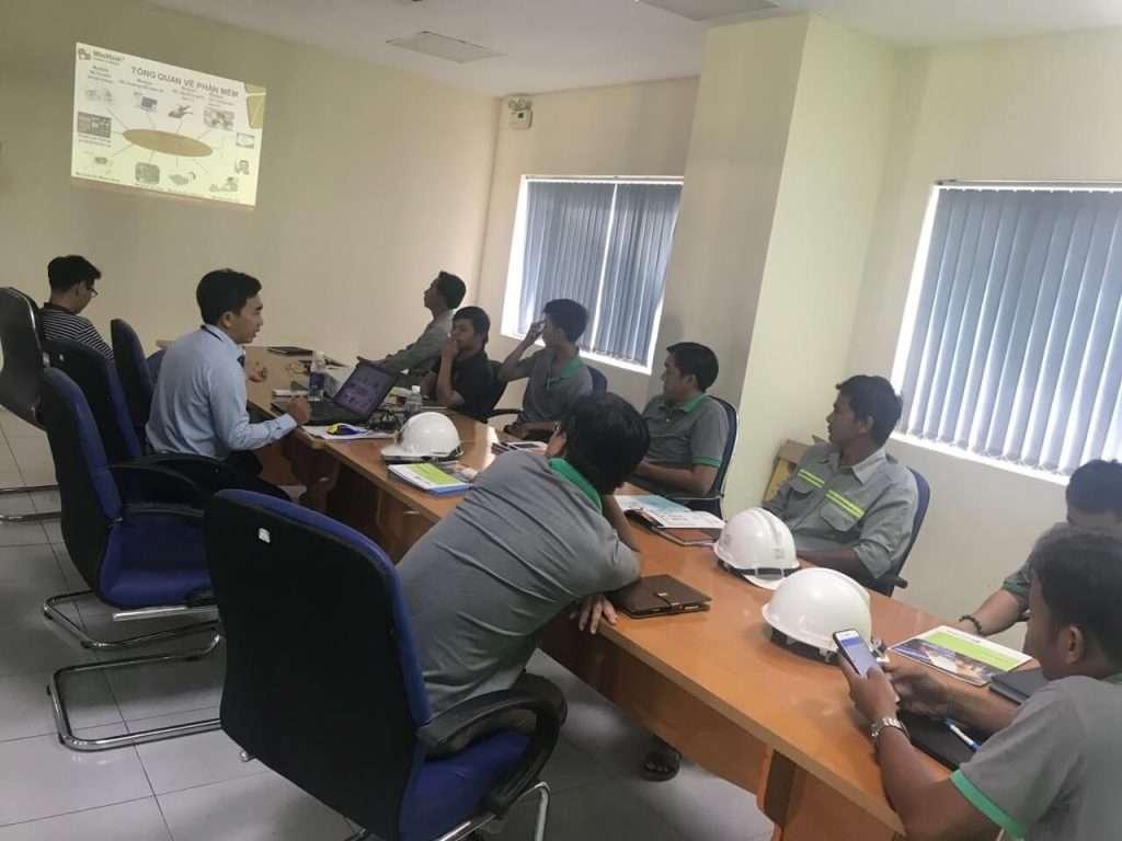 triển khai phần mềm quản lý bảo trì thiết bị tại nhà máy MDF Kiên Giang