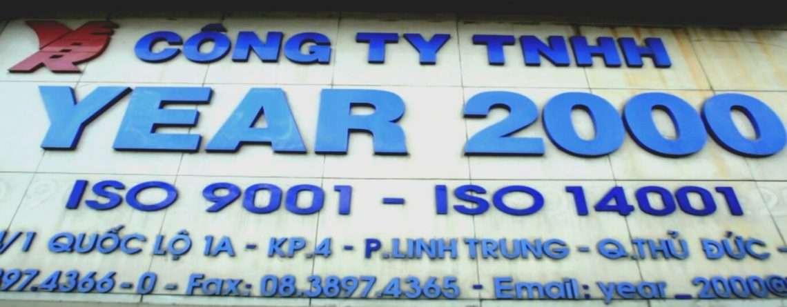 Công ty TNHH Year 2000 chọn WinMain là nhà cung cấp phần mềm quản lý bảo trì thiết bị