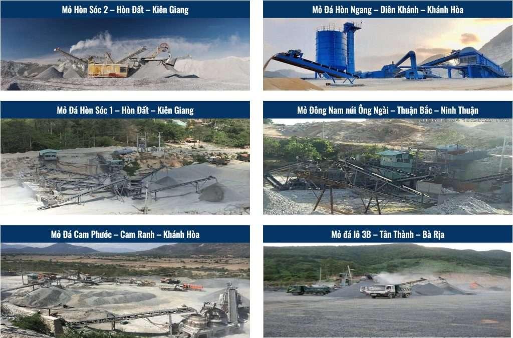 Triển khai phần mềm quản lý bảo trì thiết bị WinMain CMMS cho 6 mỏ đá của công ty đá hoá an 1