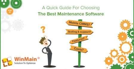 phần mềm quản lý bảo trì thiết bị winmain cmms