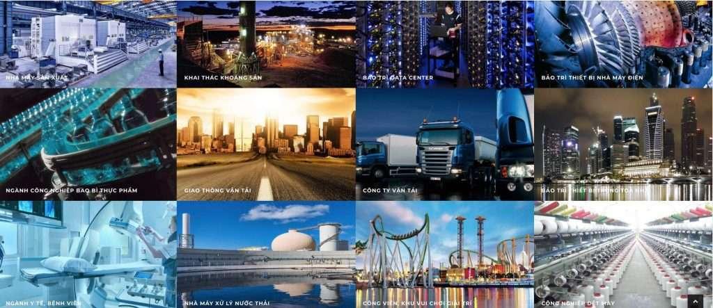 Phần mềm quản lý bảo trì thiết bị sử dụng được cho đa dạng ngành công nghiệp